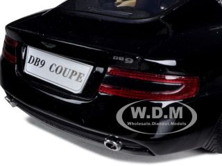 Aston Martin DB9 Coupe Black 1 18 Diecast Model Car by Motormax 73174