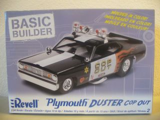 Cop Out Plymouth Duster Funny Car Complete Kit