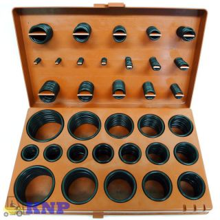 407 Seal / Gasket O Ring Rubber Kit Tools W/Case Auto Engine Repair