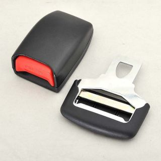 Auto Car Safety Seat Belt Lock Buckle 2pcs Adjustable