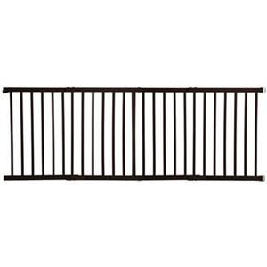 Dream Baby Pet Dog Wide Dark Wood Wooden Hardware Mount Safety Gate 49