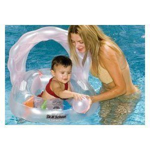 Baby Oyster Swimming Pool Float Boat Seat Inflatable