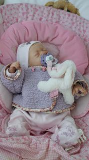Reborn Baby Girl Marie Kit Mavie of Evelina Wojsnuk Limited Edition