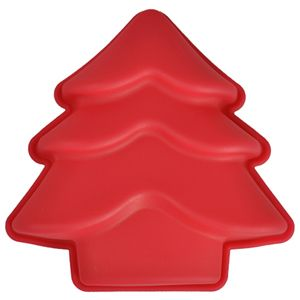 Mini Christmas Tree Silicone Baking Mold Bake Cake Decorating Pan