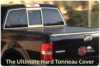 CLEARANCE Bakflip G2 Hard Folding Tonneau 5 5 Short Bed Cover 08 12