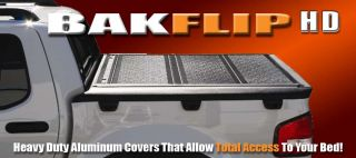 Bakflip HD Tonneau Bed Cover 06 12 Honda Ridgeline Crew Cab Short Bed