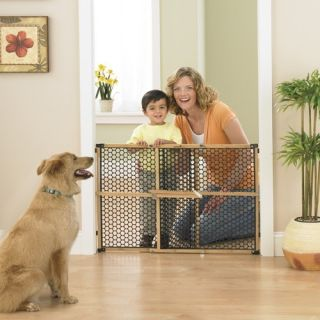 Safety 1st Nature Next Bamboo Gate Baby Kidpet Dog Security Gate Free