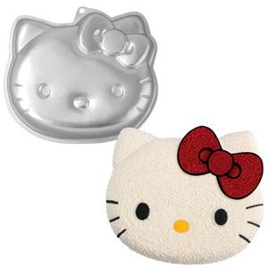Wilton HELLO KITTY CAKE PAN Girls Birthday Party Baking Mold