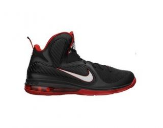 GS Black White Sport Red Big Kids Basketball Shoes 472664 001