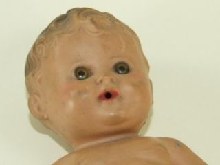 Tod L Tot Sun Rubber Co Baby Doll 7A Barberton USA Needs A Bath