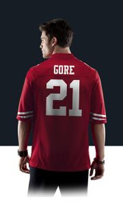 NFL San Francisco 49ers (Frank Gore) Mens Football Home