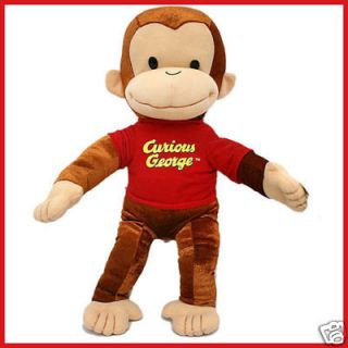 Curious George Plush Doll Soft Stuffed Doll Kelly Toy  15 Large