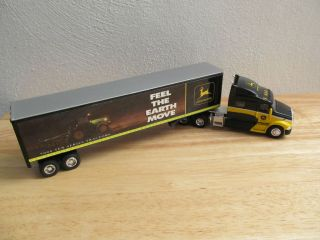 SpecCast 1/64th Peterbilt Semi truck with John Deere 7000 tractor