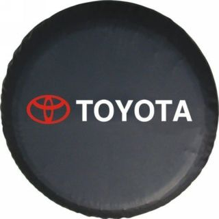 Toyota SUV 4WD Spare Wheel Tire 0.7mm Soft Cover 30 31 (Fits Toyota