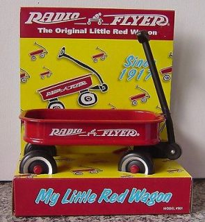 1998 Radio FlyerThe Original Little Red Wagon Model # 901 New in