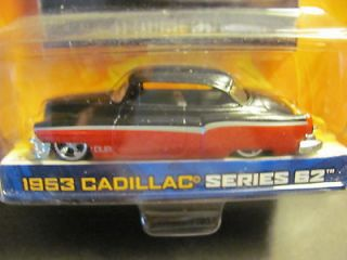 JADA DUB CITY OLDSKOOL 53 RED & BLACK CADILLAC VHTF NIP