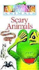 Amazing Animals Scary Animals (VHS, 199