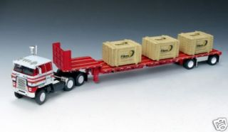 dcp fikes international transtar w step deck trailer time left