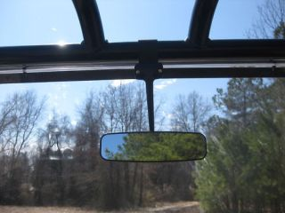 john deere gator utv rear view mirror