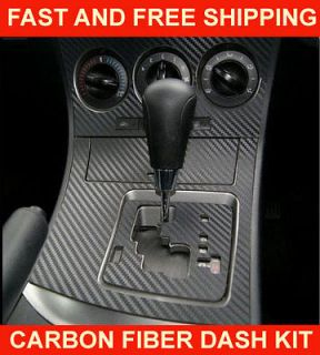 Infiniti G35 03 04 Carbon Fiber Interior Dashboard Dash Trim Kit Parts