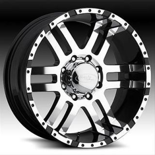 Eagle Alloys 079 Series Super Finish Black Wheel 18x9 6x5.5 BC Set