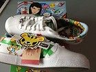 ASICS ONITSUKA TIGER Lawnship Tokidoki shoes NIB 8 WHITE 2009 Limited