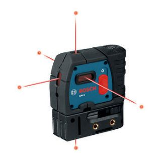 bosch 5 point self leveling alignment laser gpl5 new time