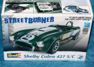 shelby cobra 427 s c plastic model car kit time