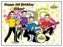 Wiggles #3 Edible CAKE Icing Image topper frosting birthday party
