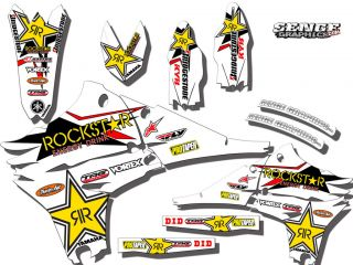 2003 2004 2005 WR 250 450 GRAPHICS KIT YAMAHA WR250F WR450F DECO WR250