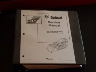 Bobcat MT52 Bobcat Mini Track Loader Service Manual, 6902525 (3 06)