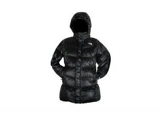 girls medium north face down jacket in Clothing,