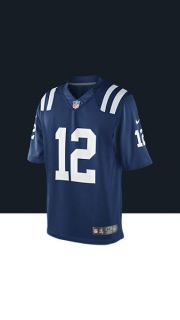 Colts Andrew Luck Mens Football Home Limited Jersey 468924_439_A