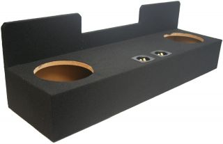 04 Ext Cab Truck Dual 10 Sub Box Speaker Subwoofer Enclosure