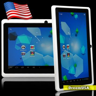 5GHz Cortex A13 Capacitive Multi Touch Android 4 ICS White Mid