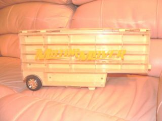 Motor Mover Semi Truck Car Case Carrier Hotwheels Matchbox Redbox 1999