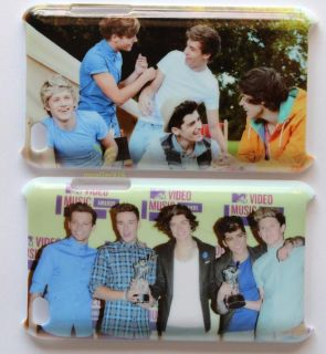 New 2pcs One Direction 1D Crew Back Case Cover for iPod Touch 4th 4