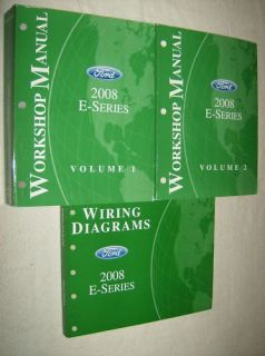 2008 E Series Van Ford Econoline Repair Manual Manuals