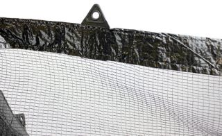 18 Round Above Ground Swimming Pool Leaf Net Cover for Winter Cover