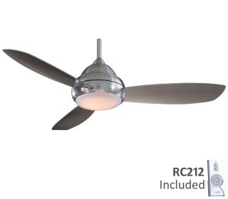 Minka Aire 44 Concept I F516 BN Nickel Ceiling Fan