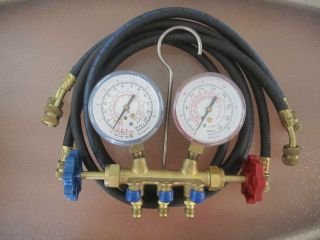 AIR CONDITIONING REFRIGERATION UNIWELD GAUGES Tool Air Conditioning