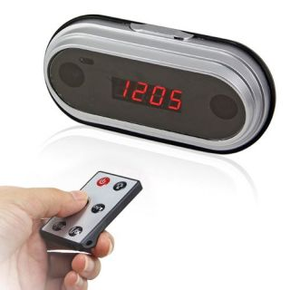 Multi Functional Electronic Digital Alarm Clock Hidden Camera DVR