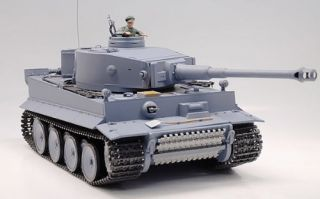 of 116 RC German Tiger I Tank Remote Control w/ Sound and Smoke