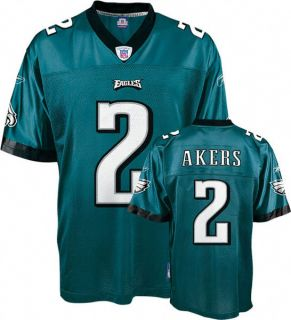 Eagles Equip NFL Youth Jersey David Akers Green Small