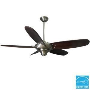 Hampton Bay Altura 56 in Brushed Nickel Ceiling Fan
