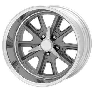 American Racing Shelby Cobra Gray Painted Wheel 17x11 5x4 75