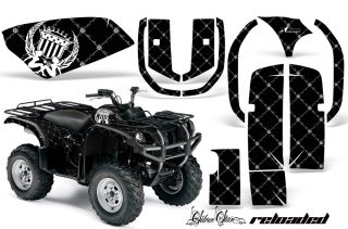 AMR ATV Graphics Decal Kit Yamaha Grizzly 660 Stickers