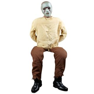 New Insane Serial Killer Animated Prop for Haunted House or Halloween