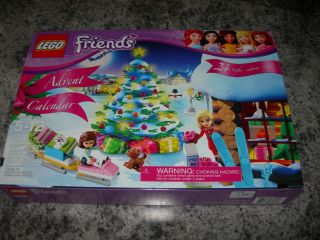 LEGO FRIENDS ADVENT CALENDAR 2012 building toy 3316 with 24 gifts
