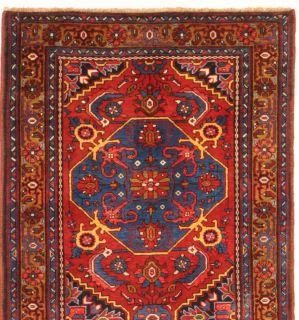 Runner Area Rugs Handmade Persian Wool Karaja 11
